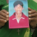 """My son has been missing since 19th of June 2008"" ~ Sebamalai Sinnaththurai Perera from Mannar"