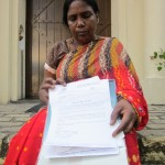 """My son was abducted from home on 11th of September 2008"" ~ Uthayachndra Manuel from Mannar"