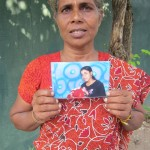 """My daughter has been missing since 15th of May 2009 from Valaijarmadam"" ~ Vasanthathevi Kathirkamanathan from Ananthapuram, Puthukkudiyiruppu in Mullaithivu District"