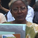 """My son has been missing since 6th of May 2006"" ~ Devi Kanthasamy from Kandaavalai in Kilinochchi District"