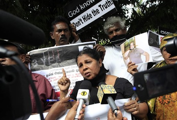 Sri Lanka Missing Journalist