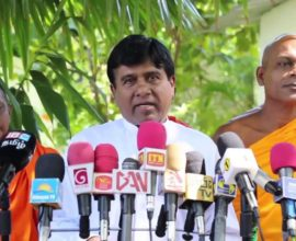 "Wijeyadasa Rajapakshe's ""lack of confidence"" in the CTF: Revengeful and racist"