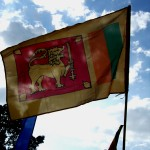 The triumphant SL flag